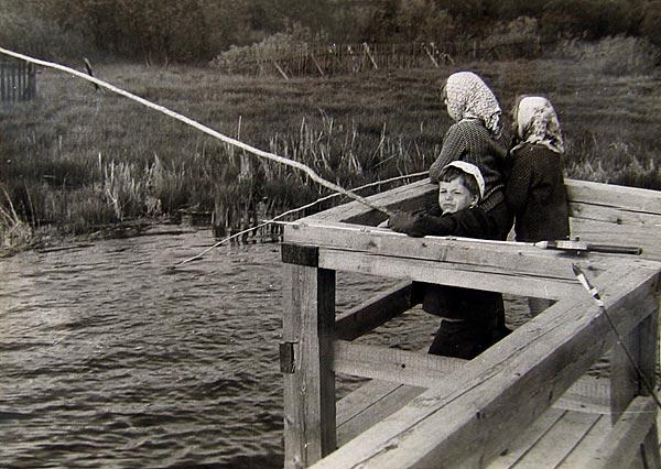 я люблю рыбалку не без;  детства