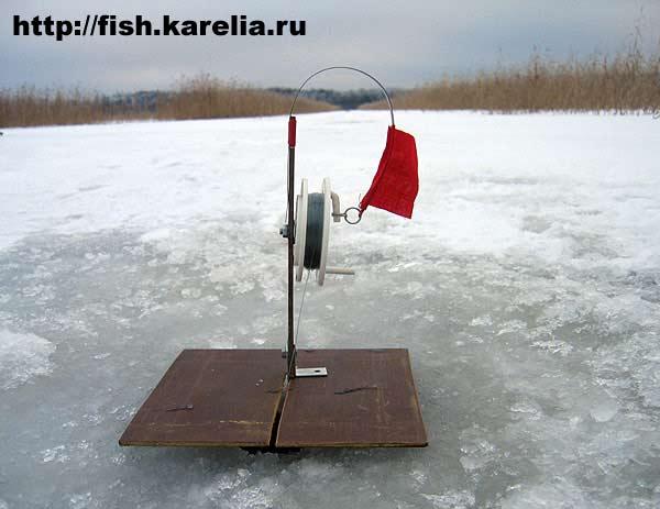 Флажки для зимней рыбалки своими руками